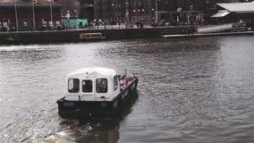 Ferry de Bristol se dirigeant à solides solubles Grande-Bretagne Photos stock
