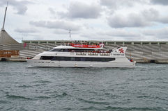 Ferry de catamaran Image stock