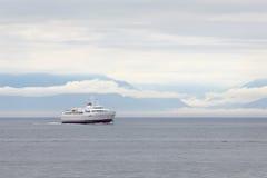 Ferry de Coho, Washington State, péninsule olympique Photo stock