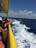 Ferry de Cozumel ! Images libres de droits