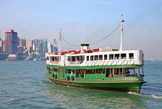Ferry de Hong Kong Image stock