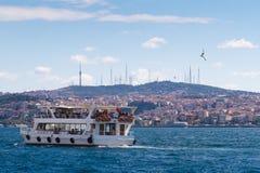 Ferry de l'eau à Istanbul image stock
