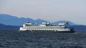 Ferry de Seattle Image libre de droits