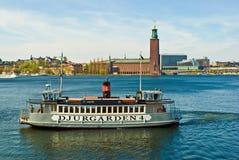 Ferry de Stockholm Images stock
