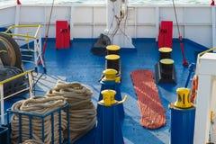 Ferry deck Stock Photos