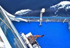Ferry deck Royalty Free Stock Photos