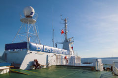 On the ferry DFDS SEAWAYS Royalty Free Stock Photo