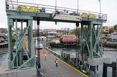 Ferry dock Stock Photos