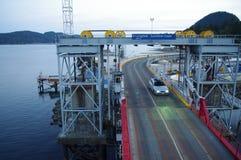 Ferry dock Stock Photo