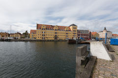 Ferry dock Svendborg Stock Photos