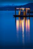 Ferry Dock Twilight, English Bay Royalty Free Stock Photo