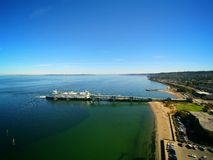 Ferry Docked in Edmonds Washington. Ferry Docked in Edmonds Wasington. Taken with my Drone royalty free stock photo
