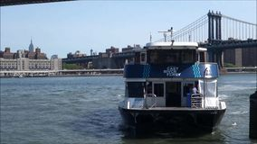 New York City Ferry stock footage