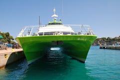 Ferry du chat de vol 5, Alonissos Photographie stock libre de droits