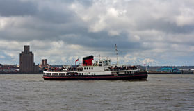 Ferry du Mersey, Liverpool, R-U photographie stock libre de droits