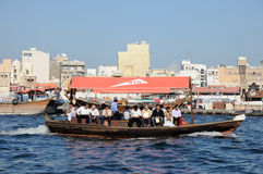 Ferry in Dubai Royalty Free Stock Images