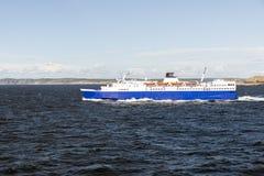 Ferry entre en Noruega de sweden no mar aberto Foto de Stock