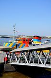 Ferry at Ferry Port, Liverpool. Stock Image