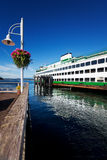 Ferry in Friday Harbor Royalty Free Stock Photos
