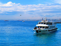 Free Ferry From The Asian Side Stock Photo - 48522270