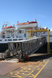 Ferry with gangway Stock Photography