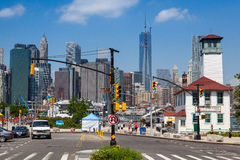 FERRY HARBOR, BROOKLYN,NEW YORK Stock Image