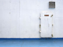 Ferry hatch door background philippines Stock Photo