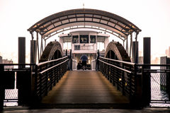 Ferry at Hoboken Station, New Jersey Stock Photos