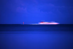 Ferry hurry Royalty Free Stock Image