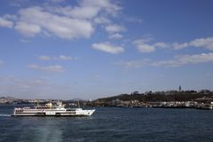 Ferry Istanbul royalty free stock photo