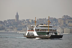 Ferry in Istanbul Stock Photo