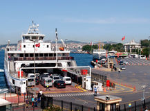 Ferry in Istanbul Royalty Free Stock Image