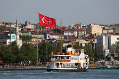 Ferry in Istanbul, Turkey Stock Photo