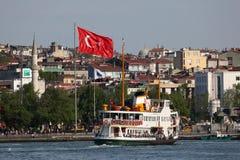 Ferry in Istanbul, Turkey Stock Photo