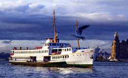 The ferry for Istanbul Royalty Free Stock Images