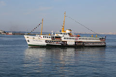 Ferry in Istanbul Royalty Free Stock Images