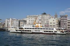 Ferry in Karakoy Port Stock Photos