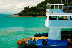 Ferry Kohchang thailand Royalty Free Stock Photo