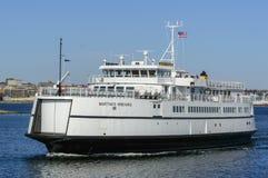 Ferry la vigna del ` s di Martha sul fiume di Acushnet fotografia stock