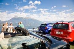 Ferry, Lake Como, Italy Stock Photography