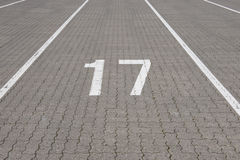 Ferry lane number 17 Stock Images