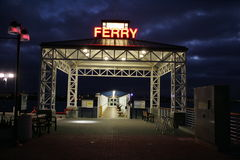 Ferry Loading Dock Stock Photography
