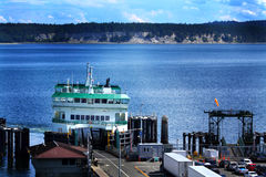 Ferry Loading Royalty Free Stock Image