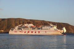 Ferry in Los Cristianos, Tenerife Stock Photos