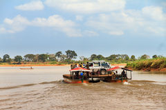 Ferry Madagascar Royalty Free Stock Photo