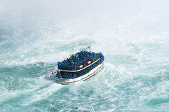 A ferry of the Maid of the Mist Stock Image