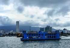 Ferry Malaysia. A ferry cross the ocean to the Penang Island Malaysia Royalty Free Stock Images