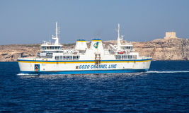 Ferry from malta to Gozo Stock Images