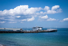 Ferry Martha's Vineyard Royalty Free Stock Images