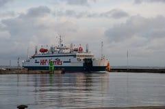 Ferry Mercandia de Scandlines photographie stock libre de droits